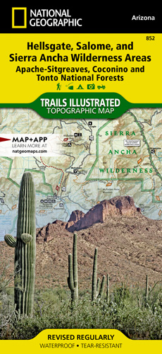 Hellsgate, Salome, and Sierra Ancha Wilderness Areas [Apache-Sitgreaves, Coconino, and Tonto National Forests]