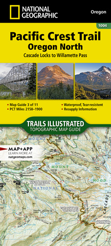 Pacific Crest Trail: Oregon North [Cascade Locks to Willamette Pass]