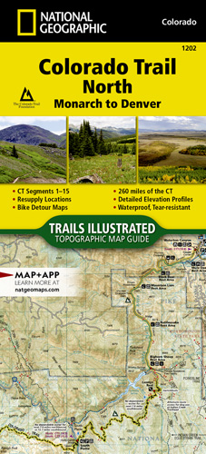 Colorado Trail North, Monarch to Denver