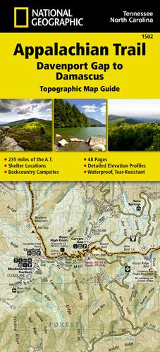 Appalachian Trail, Davenport Gap to Damascus [North Carolina ...