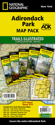 Adirondack Park [Map Pack Bundle]
