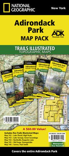 Adriondack Park [Map Pack Bundle]