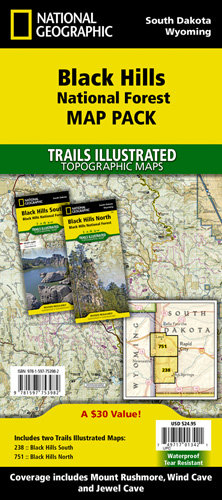 Black Hills National Forest [Map Pack Bundle]