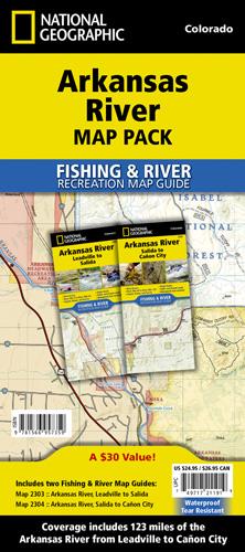 Arkansas River Map Pack Bundle