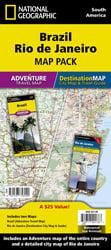 Brazil, Rio de Janeiro [Map Pack Bundle]