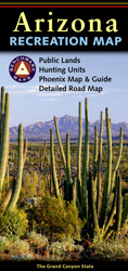 Arizona Benchmark Recreation Map