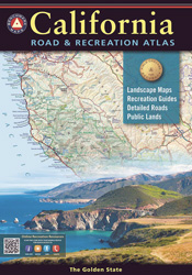 California Benchmark Road & Recreation Atlas