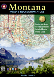 Montana Benchmark Road & Recreation Atlas [3rd edition]