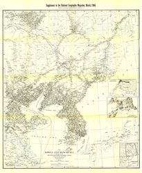 Korea and Manchuria Map