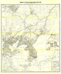 Korea and Manchuria Map
