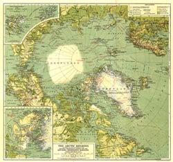 Arctic Regions Map