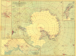 Antarctic Regions Map