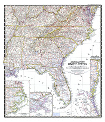 South Central United States Map - South central us map