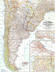 Southern South America Map