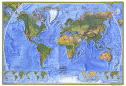 Physical world map 499 1975 physical world map gumiabroncs Image collections