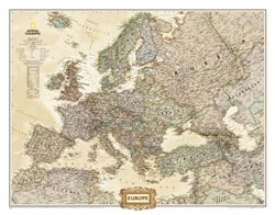 Europe Reference Maps Wall Maps