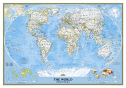 World Reference Maps Wall Maps - Wall maps of the world
