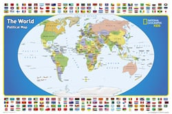Kids wall maps the world for kids gumiabroncs Image collections