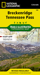 Breckenridge, Tennessee Pass trail map