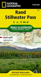 Rand, Stillwater Pass trail map