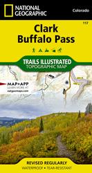 Clark, Buffalo Pass trail map