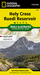 Holy Cross, Ruedi Reservoir trail map