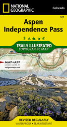 Aspen, Independence Pass trail map