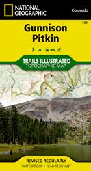 Gunnison, Pitkin trail map
