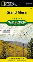 Grand Mesa trail map