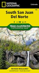 South San Juan, Del Norte trail map