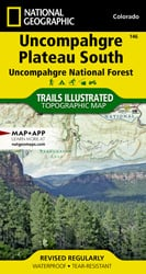 Uncompahgre Plateau South trail map