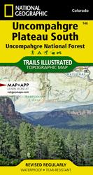 Uncompahgre Plateau South trail map