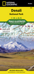 Denali National Park trail map
