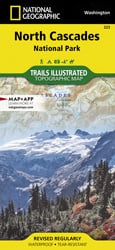 North Cascades National Park trail map