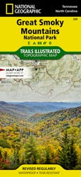 Great Smoky Mountains National Park trail map