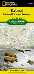 Katmai National Park and Preserve trail map