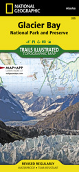 Glacier Bay National Park and Preserve trail map