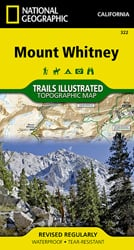 Mount Whitney trail map