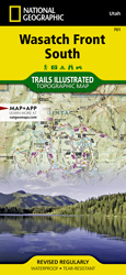 Wasatch Front South trail map