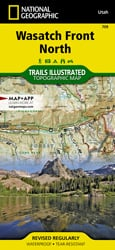 Wasatch Front North trail map