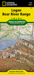 Logan, Bear River Range trail map