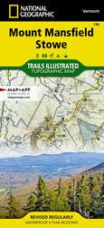 Mount Mansfield Stowe trail map