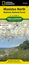 Manistee North trail map