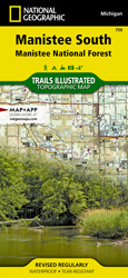 Manistee South trail map