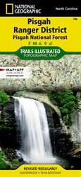 Pisgah Ranger District trail map