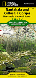 Nantahala and Cullasaja Gorges trail map