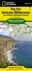 Big Sur trail map