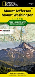 Mount Jefferson, Mount Washington trail map