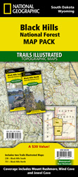 South Dakota - Trails Illustrated Maps - Trail Maps