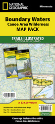 Boundary Waters Canoe Area Wilderness [Map Pack Bundle]
